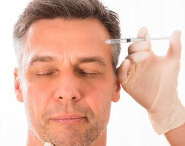 botox treatment men