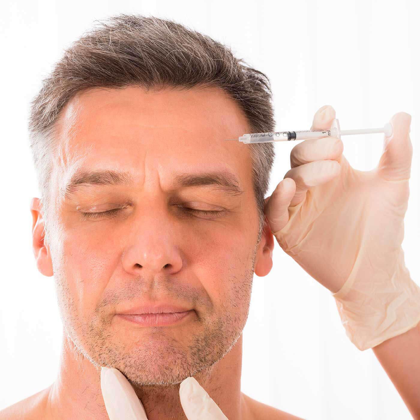 botox treatment men