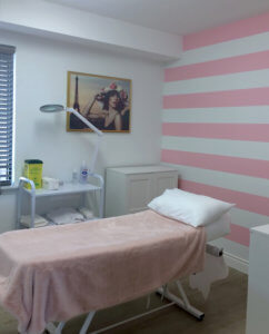 Interior of Ruelala anti aging clinic