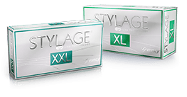 Stylage XXL and XL facial fillers