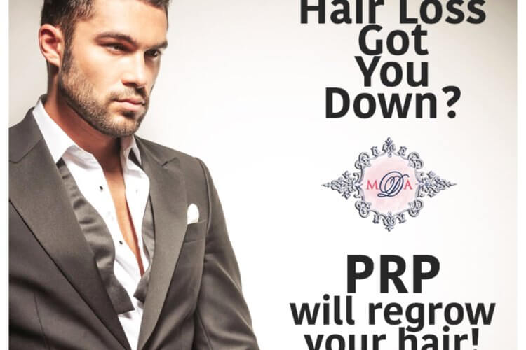 PRP will regrow your hair